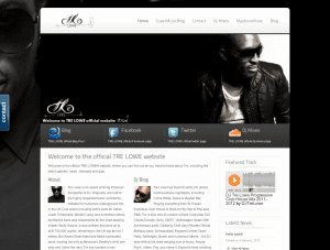 TreLowe Website Design