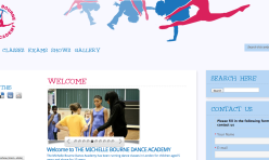 Web Design ~ Dance Academy Rebrand For Success