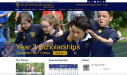 Web Design for St John's Priory School
