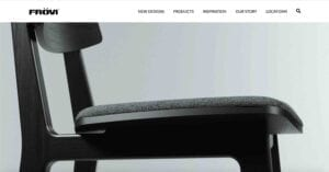 Frövi - Furniture Manufacturing Web Design & Development